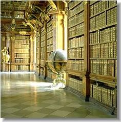 Melk Abbey Library, Austria http://www.stiftmelk.at/englisch/