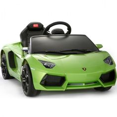 Kids Lamborghini Aventador – $393 #kids #play #fun #outdoor #indoor #battery
