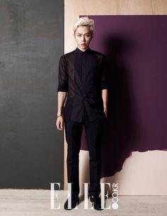 Jun Hyung - Elle Magazine August Issue '14