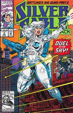 Silver Sable and the Wild Pack # 3 by Steven Butler & Dan Panosian