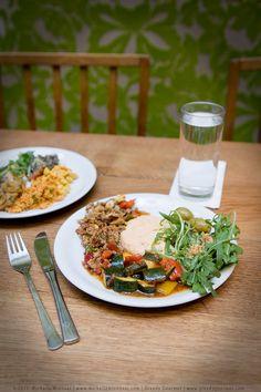 Tibits - a vegetarian buffet restaurant.