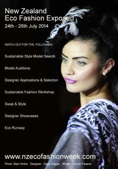 New Zealand Eco Fashion Exposed 2014 July 24th - 26th 2014