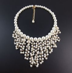 collares de moda con perlas grandes - Buscar con Google