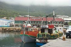 On the Hout Bay pier