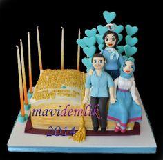 mavi demlik mutfağı- izmir butik pasta kurabiye cupcake tasarım- şeker hamurlu-kur: DEFTER PASTA