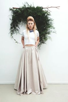 Wedding skirt with pockets / Wedding Separates / wedding skirt