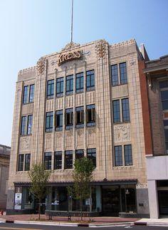 #ArtDeco | Kress Building, Durham, North Carolina