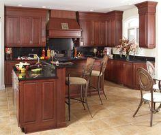 kitchen cabinet Cherry Time - traditional - kitchen - other metro - Foshan Yubang Furniture Co., Ltd.
