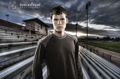 Ok, I seriously, seriously hate the twilight-like effect on this picture but I like the setting, especially since I'm fixing to do a football player's senior portraits
