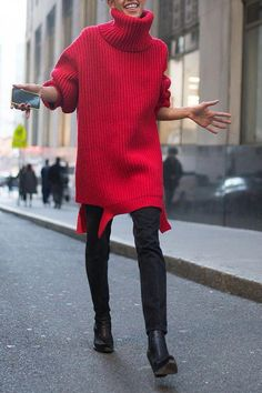 dde6ad11dd 6 Outfit Ideas We're Stealing from New York Fashion Week #purewow #street