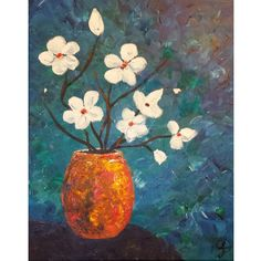 Mother's Day Flowers II, original acrylic painting by Kris Fairchild.