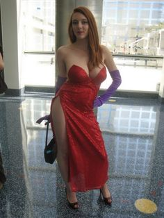 Jessica Rabbit Cosplay by Grace Lescar