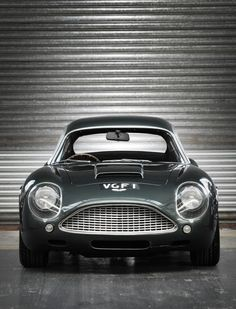 1991 Aston Martin DB-4 GT Zagato Sanction II Coupe.    The Sanction II Coupés were each built using an original 1960 DB4 GT Zagato chassis