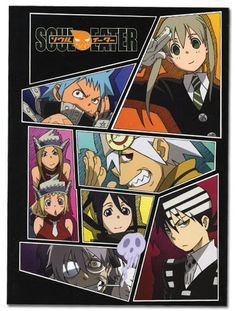 Soul Eater Glue Bound Notebook - Collage @Archonia_US