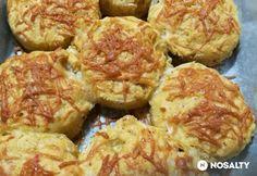 Soproni babos pogácsa Mikibácsitól Cauliflower, Vegetables, Ethnic Recipes, Food, Cauliflowers, Essen, Vegetable Recipes, Meals, Cucumber