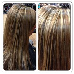 Brown Hair With Caramel And Honey Highlights