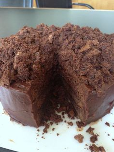 Ebinger's Blackout Cake: the legend, the recipe.  This is one of the best chocolate cakes on the planet.  From themom100.com.