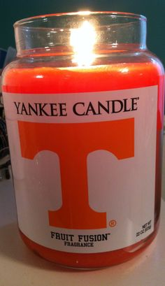 This smells great- can't wait to get one! #Yankee Candle #Tennessee Volunteers :)