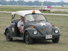 Classic Military VW Beetle