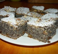 Hungarian Recipes, Bakery, Food And Drink, Sweet, Poppy, Poppy Seed Cake, Candy, Poppies, Bakery Business