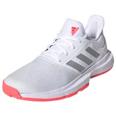 Find your pair at Tennis Express Tennis Store, Tennis Fashion, New Woman, Adidas Women, Amazing Women, Adidas Sneakers, Pairs, Shopping, Shoes