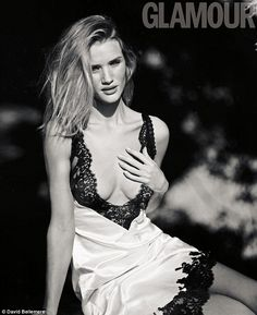 Just an ordinary girl: Rosie Huntington-Whiteley has revealed that her while she may be on...