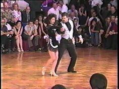 Robert Royston and Laureen Baldovi-Mason 1996 Superstars US Open west co...