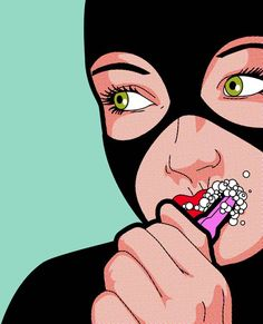 """Secret life of heroes"" of illustrator Greg Guillemin"