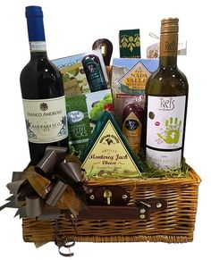 Italian Wine Holiday Basket