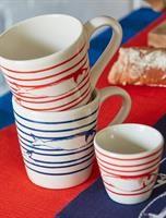 JÖRGEN Kahvi&Teekuppi 9 x 9,5 cm sininen