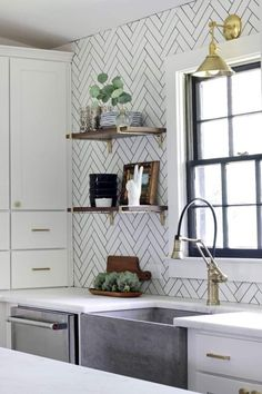 Move Over, Subway Tile: 7 Inexpensive (and Timeless) Backsplash Ideas   Apartment Therapy