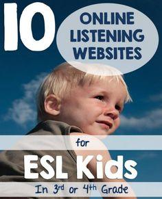 Most Popular Teaching Resources: 10 Online Listening Websites for ESL Kids in Third...