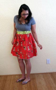 Upcycled Shirt Dresses - Rae Gun Ramblings