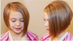 25 Belles Coupes Pour Petites Filles | Coiffure simple et facile