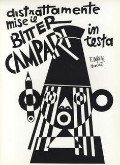 Bitter Campari- Fortunato Depero