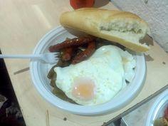 Huevo con guarra #albacete