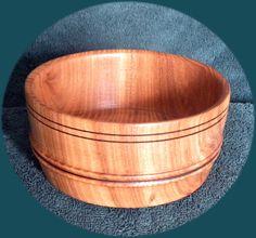 "3"" X 6"" elm bowl by Robert N. Reynolds"