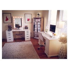 Makeup and office room