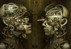 Steampunk Digital arts By Kazuhiko Nakamura