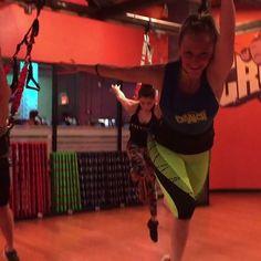This bungee flight workout revolutionizes fitness.