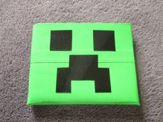 Minecraft Creeper Duct Tape Wallet