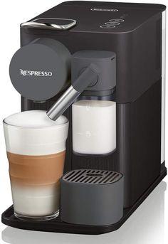 Delonghi Lattissima Nespresso One Espresso Cappuccino Maker w Frother - Ideas of Cappuccino Cappuccino Maker, Espresso Maker, Espresso Coffee, Espresso Drinks, Espresso Cups, Coffee Drinks, Coffee Mugs, Bosch Tassimo, Kitchens