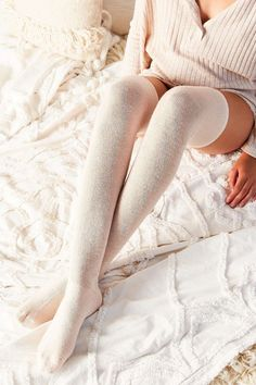 Shop Solid Thigh-High Socks at Urban Outfitters today. Thigh High Socks, Thigh Highs, Urban Outfitters, Disney Movies To Watch, Weekend Fun, Boot Cuffs, Marie Antoinette, Girly Girl, Leg Warmers