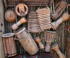 Print of Handmade Musical Instruments, Chania, Crete, Greece African musical instruments Style Reggae, African Drum, African Dance, Music Therapy, World Music, Kids Events, Kinds Of Music, Royalty Free Photos, Congas