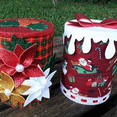 Aluminum Cans, Chocolate, Ideas Para, Hobbit, Basket, Xmas, Cardboard Box Crafts, Altered Tins, Easy Crafts