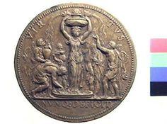 Medaglia in bronzo di Leone Leoni per Giannello della Torre | Collezioni online | Museo Civico Archeologico di Bologna | Iperbole