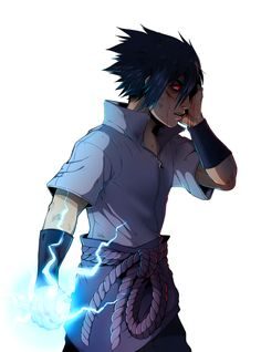 Hatred. That's my ninja way. #sasuke #naruto