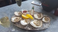 oysters and champagne, #likealady