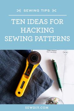 In this video, we share our tips for successful pattern hacking and ten ideas to get started adapting your sewing patterns. Knitted Fabric, Woven Fabric, Different Patterns, Skirt Fashion, Pleated Skirt, Bell Sleeves, Sewing Patterns, Hacks, Pleated Skirt Outfit