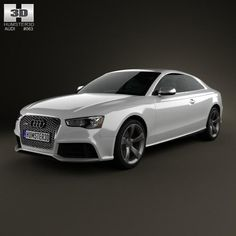 Audi coupe 2012 by The model was created on real car base. It's created accurately, in real units of measurement, qualitatively and maximally clos Rs5 Coupe, Audi A5 Coupe, Audi Rs5, 3d Design, Volkswagen, Buy Now, The Unit, Vehicles, Car